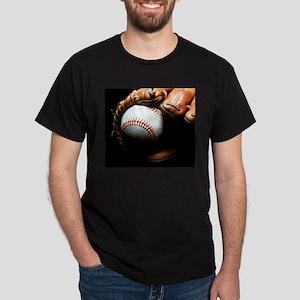 Baseball Ball And Mitt T-Shirt