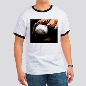 Baseball Ball And Mitt T-Shirt