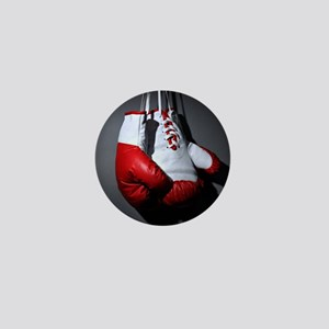 Boxing Gloves Mini Button
