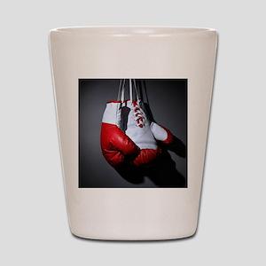 Boxing Gloves Shot Glass