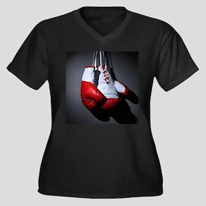 Boxing Gloves Plus Size T-Shirt