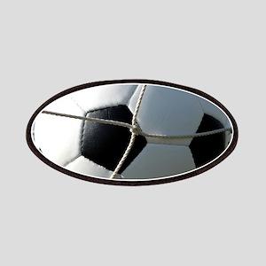 Football Ball In Net Patch
