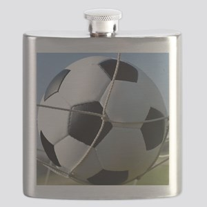 Football Ball In Net Flask