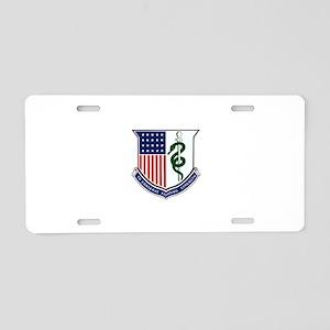 Medical Corps Crest Aluminum License Plate