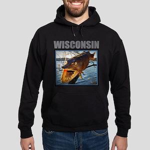 Wisconsin - Fish in Tree Sweatshirt