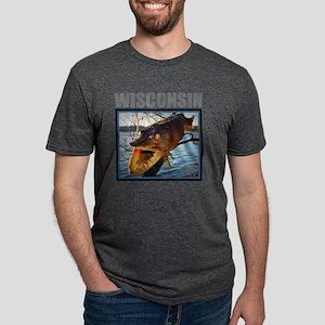 Wisconsin - Fish in Tree T-Shirt