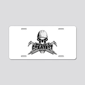 World's Greatest Welder Aluminum License Plate