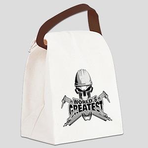 World's Greatest Welder Canvas Lunch Bag