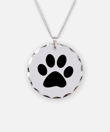 Unique Bear paw Necklace