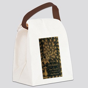Pride and Prejudice Bookcover Canvas Lunch Bag