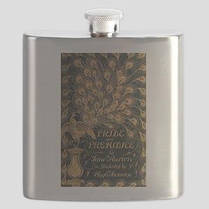 Pride and Prejudice Bookcover Flask