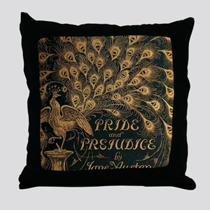 Pride and Prejudice Bookcover Throw Pillow
