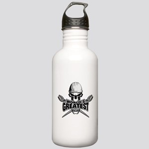 World's Greatest Ironworker Water Bottle