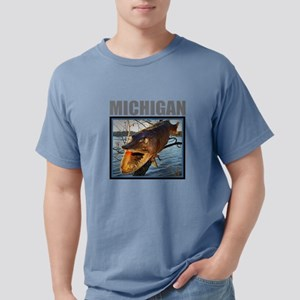 Michigan - Fish in Tree T-Shirt