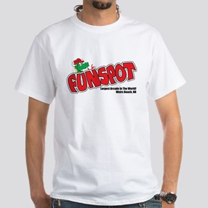 "Funspot ""Snuffy"" White T-Shirt"