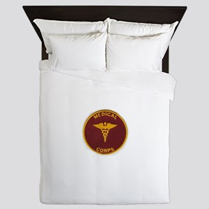 Army Medical Corps Queen Duvet