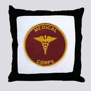Army Medical Corps Throw Pillow