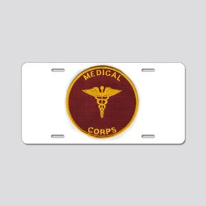 Army Medical Corps Aluminum License Plate