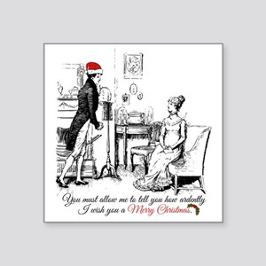 Ardently Merry Christmas Sticker