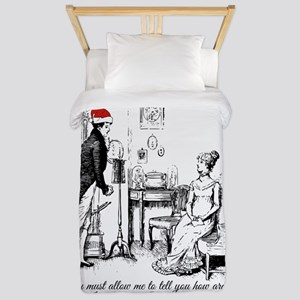 Ardently Merry Christmas Twin Duvet