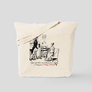 Ardently Merry Christmas Tote Bag