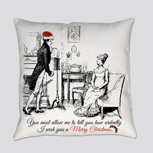 Ardently Merry Christmas Everyday Pillow