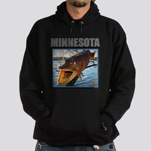 Minnesota - Fish in Tree Sweatshirt