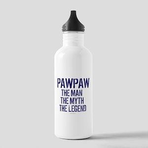 Badass PawPaw Man Myth Stainless Water Bottle 1.0L