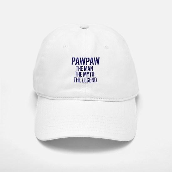 Badass PawPaw Man Myth Legend Baseball Baseball Cap