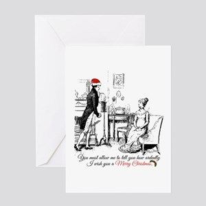 Ardently Merry Christmas Greeting Cards