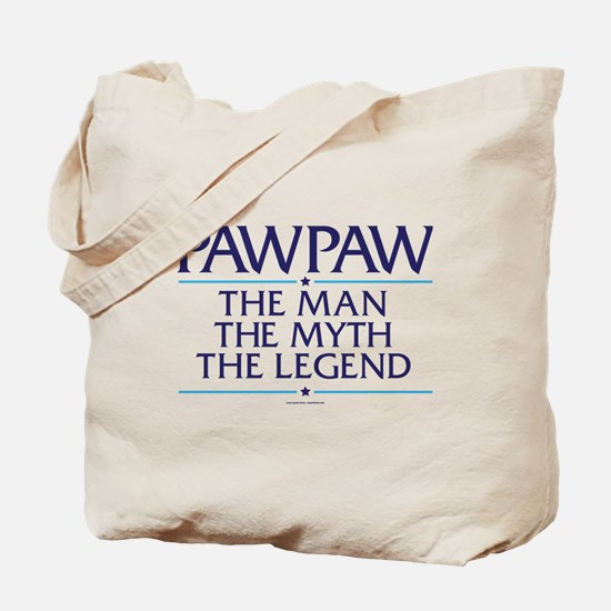 PawPaw Man Myth Legend Tote Bag
