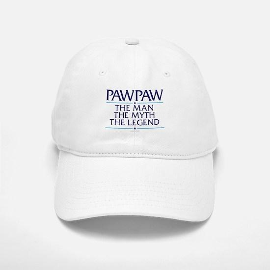 PawPaw Man Myth Legend Baseball Baseball Cap