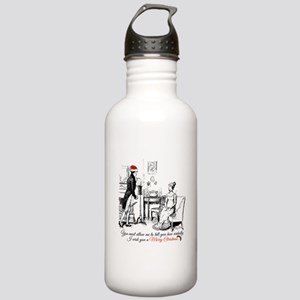 Ardently Merry Christm Stainless Water Bottle 1.0L