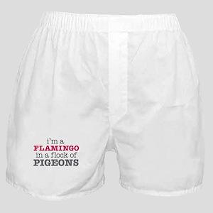 I'm a Flamingo Boxer Shorts