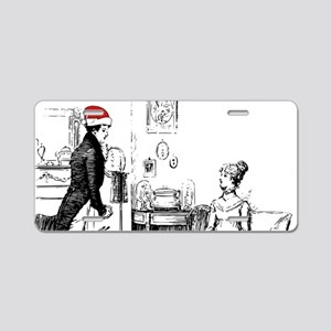 Ardently Merry Christmas Aluminum License Plate