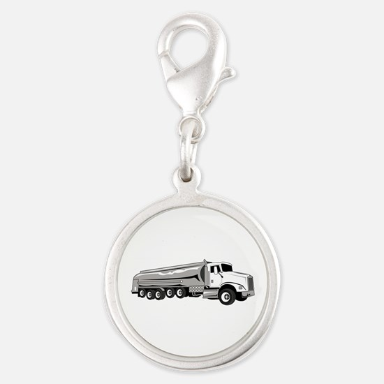 Tanker Truck Charms