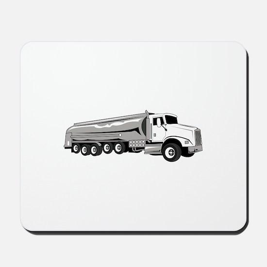 Tanker Truck Mousepad