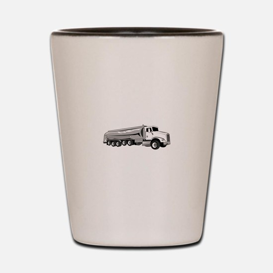 Tanker Truck Shot Glass