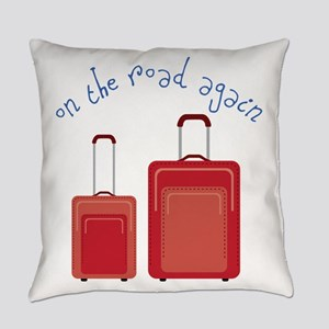 On The Road Again Everyday Pillow