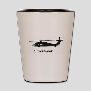 UH-60 Blackhawk Shot Glass