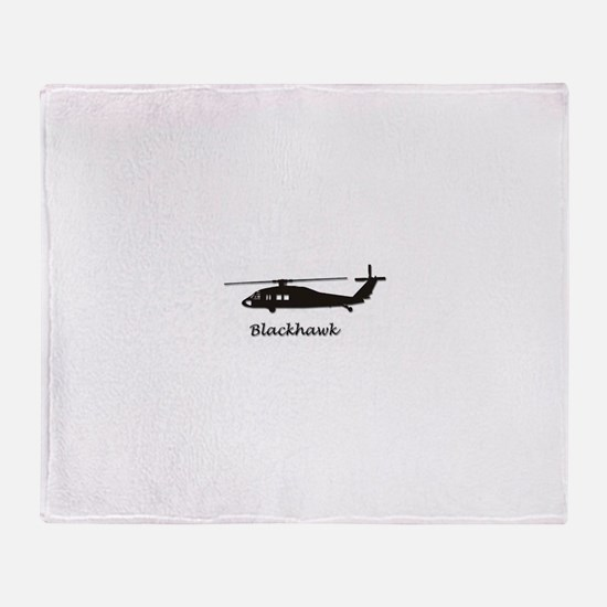 UH-60 Blackhawk Throw Blanket