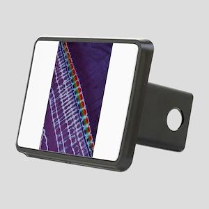 Sweet Purple Tie Dye Stripe Hitch Cover