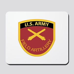 US Army Field Artillery Mousepad