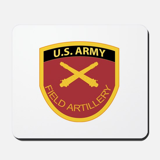 US Army Field Artillery Mousepad