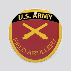 US Army Field Artillery Round Ornament
