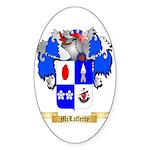 McLafferty Sticker (Oval)