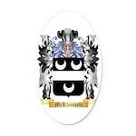 McKlemoyle Oval Car Magnet
