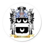 McKlemoyle Round Car Magnet