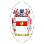 McKitrick Sticker (Oval 50 pk)