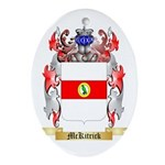 McKitrick Oval Ornament
